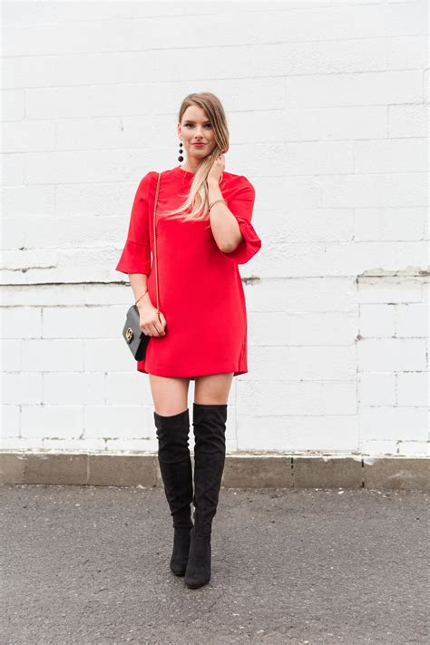 15 red holiday dresses you need now life with a co by