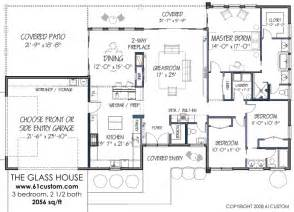 simple glass house plan placement free contemporary house plan free modern house plan the