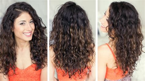 ways to style your hair ways to style curly hair in everyday styling 6773