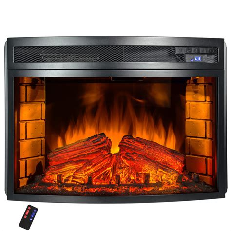 electric fireplace heater  remote contemporary