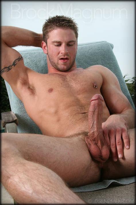 Brock Magnum   Legend Men   Muscle Cum   Gay Porn Pictures & Vids