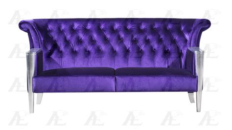 american eagle ae592 purple sofa loveseat and chair set