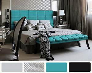 Black And White Themed Bedroom Decor Ideas