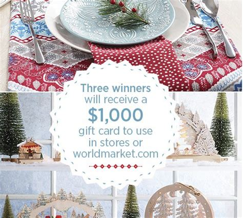 country living sweepstakes country living world market sweepstakes