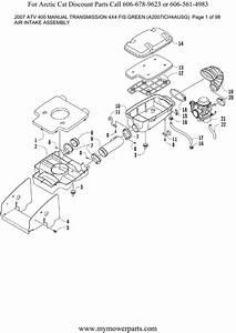 2007 Arctic Cat 400 Parts Diagram