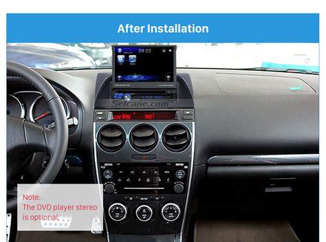 1din 2002 2007 mazda 6 atenza car radio fascia audio stereo dashboard surrounded installation