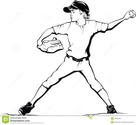 boy baseball pitcher stock photo image  isolated male