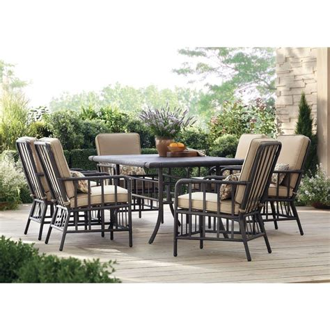 martha stewart living bryant cove 7 patio dining set