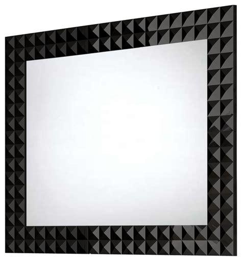 Bathroom Mirrors Black Frame by Wall Framed Mirror Contemporary Bathroom