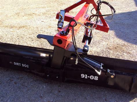 dirt blade dirt 3pt hydraulic 8 foot grader blade magnolia tx 112851369 equipmenttrader