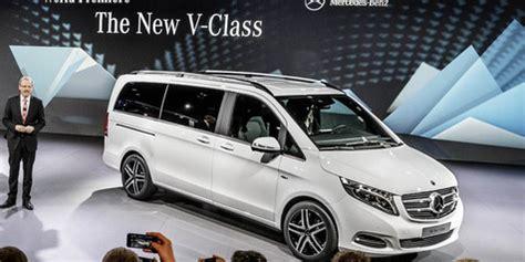 Gambar Mobil Mercedes V Class by Baru Dan Luxury Mpv New Mercedes V Class