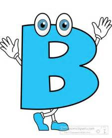 Cartoon Letter B
