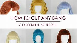 How To Cut Any Bangs