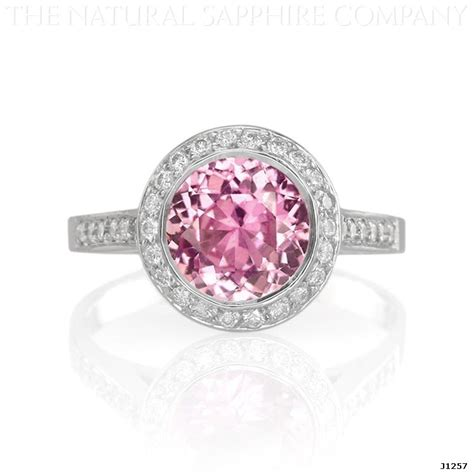 pink engagement ring buy affordable inexpensive pink sapphire engagement rings with diamonds with images
