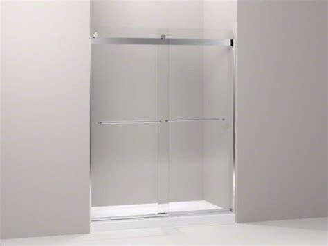 Kohler Glass Shower Door - kohler levity r front sliding glass panel and assembly