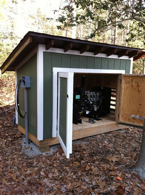 arts  crafts style shelves pool shed generator shed
