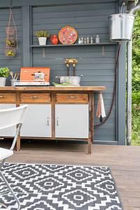 Diy Garten Ideen : diy upcycling outdoor k che aus einer werkbank leelah loves ~ Indierocktalk.com Haus und Dekorationen