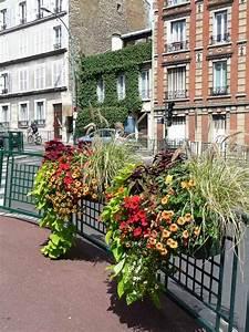 Jardiniere Fleurie Plein Soleil : jardini res fleuries suresnes hauts de seine paris ~ Melissatoandfro.com Idées de Décoration