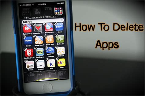 how to delete apps on the iphone 5 4s and 4 how to use