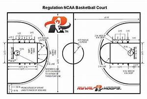 basketball court dimensions adjustable goals ryval hoops