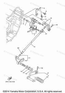 Yamaha Motorcycle 2002 Oem Parts Diagram For Shift Shaft