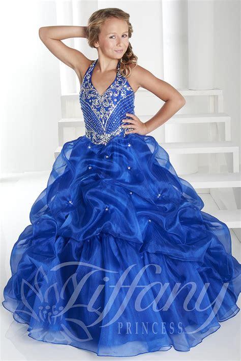 tiffany princess  girls pageant dress french novelty