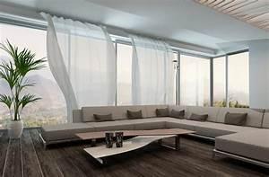 Vorhänge Große Fenster : business24 sch ner wohnen mit dekorativen vorh ngen ~ Sanjose-hotels-ca.com Haus und Dekorationen