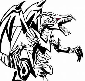 Red Eyes Black Dragon by reaver570 on DeviantArt