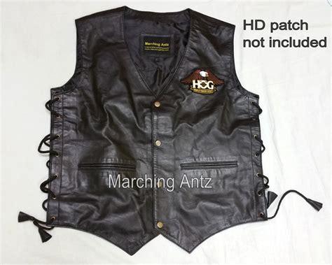 Biker Leather Motorcycle Vest
