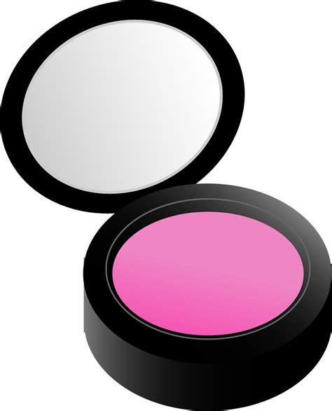 Makeup Clipart Makeup Clipart Powder Pencil And In Color Makeup Clipart