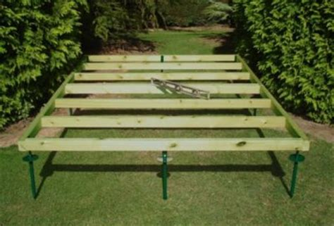 zekaria build shed ramp uneven ground