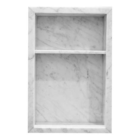 shower niches marble trend marble granite tiles
