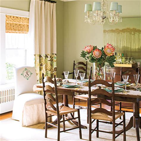 dining room decorating ideas layer window treatments
