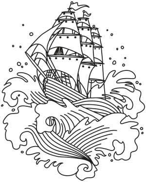 Pin by janine Andrews on Sticken | Ship tattoo, Drawings
