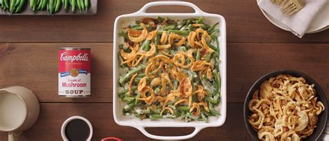 classic green bean casserole recipe campbells kitchen