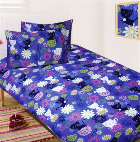 Teenage Bedroom Comforters by Kool Cat Quilt Cover Set Cat Bedding Kids Bedding Dreams