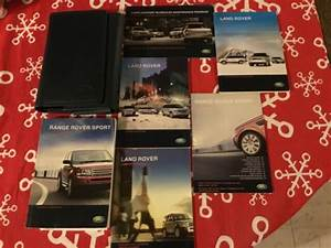 2008 Land Rover Range Rover Sport Owners Manual Pack