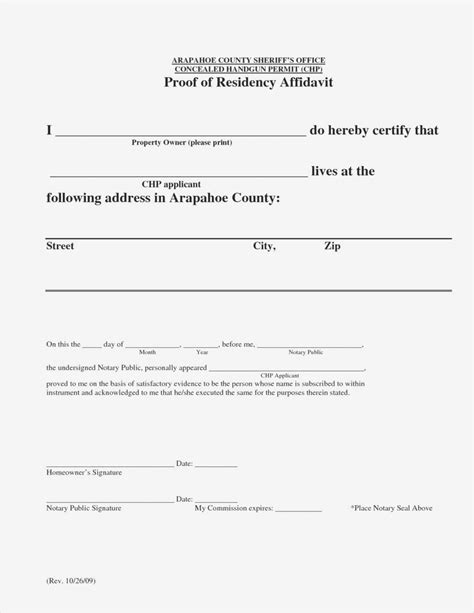 proof of residency letter notarized letter template for residency samples letter 24145 | letter residency ideas printable notarized letter residency of notarized letter template for residency