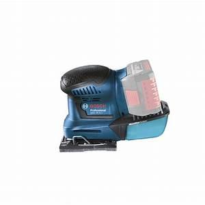 Bosch Pro 18v : bosch blue 18v professional orbital sander skin only ~ Carolinahurricanesstore.com Idées de Décoration