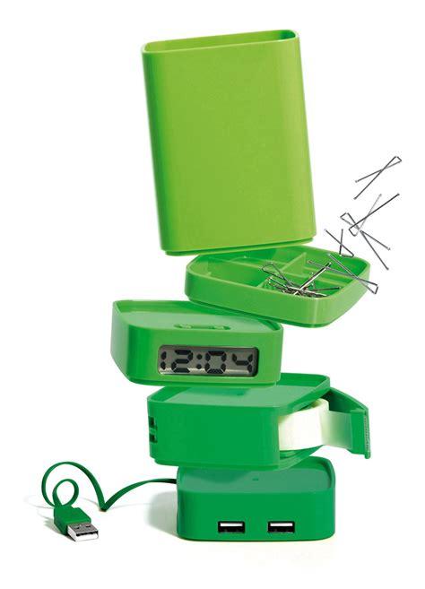 accesoire bureau le mini totem de lexon design guten morgwen
