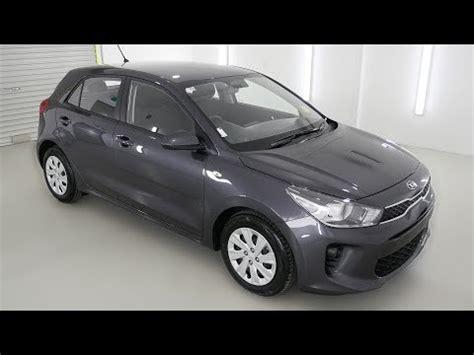 kia rio  platinum graphite auto hatchback  youtube