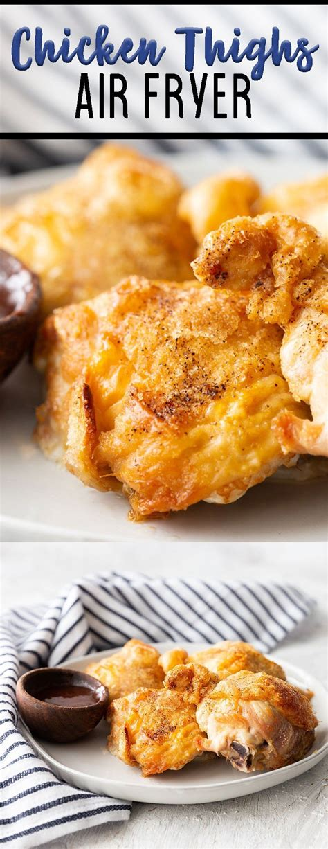 fryer air chicken fried oven thighs recipe recipes thigh breaded crispy cooking cook cooked healthy eazypeazymealz