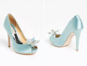 wedding shoes badgley mischka badgley mischka blue wedding shoes onewed