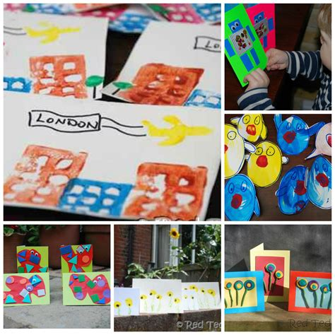 20 Card Making Ideas For Kids  Red Ted Art's Blog