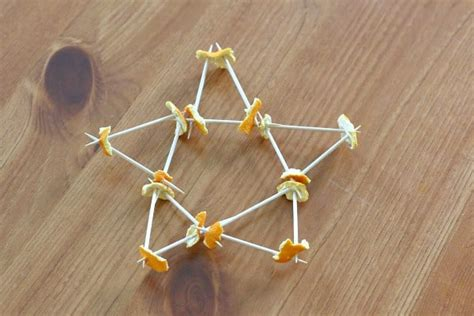building  toothpicks  orange peels buggy  buddy