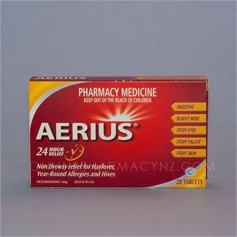 aerius  pharmacy nz