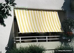 Sonnensegel Für Balkon : balkon sichtschutz mit faltsonnensegeln ~ Frokenaadalensverden.com Haus und Dekorationen