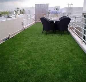 Gazon Artificiel Balcon : gazon synth tique balcon terrasse green eco concept ~ Edinachiropracticcenter.com Idées de Décoration