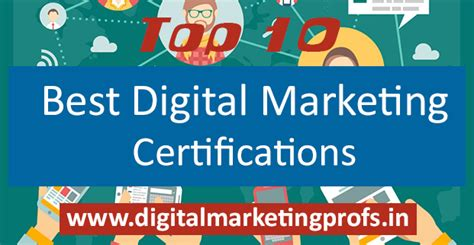 top 10 best digital marketing certifications digital