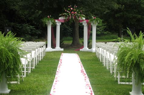 outdoor wedding decorations for your inspiration
